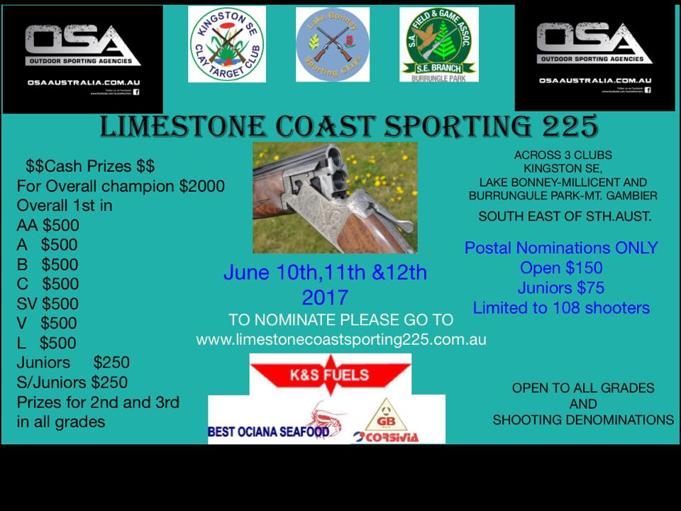 Limestone coast sporting225