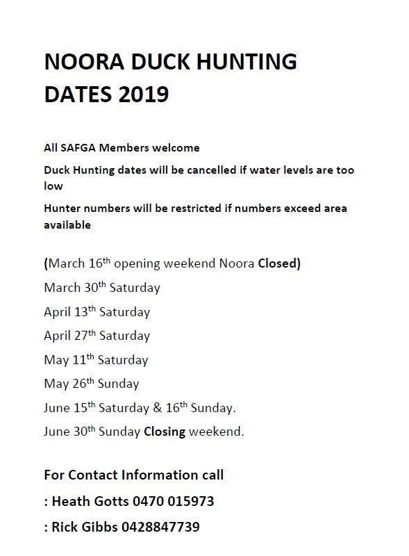 Noora Dates 2019